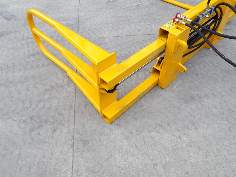 zagroda parallel arm bale grab for  square or round bales 431392 011
