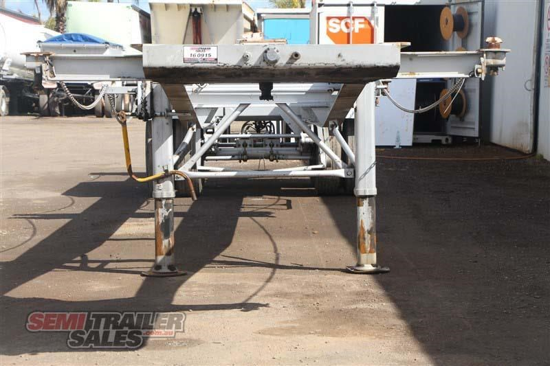 freighter 45/48ft skel semi trailer with 2 way pins 431660 004
