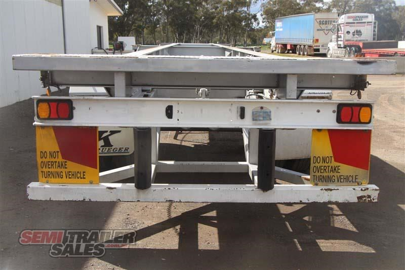 freighter 45/48ft skel semi trailer with 2 way pins 431660 005
