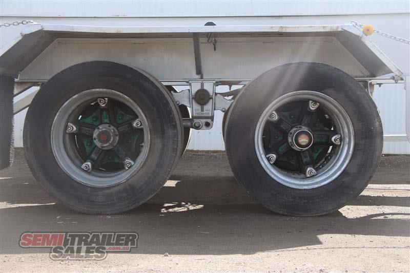 freighter 45/48ft skel semi trailer with 2 way pins 431660 008