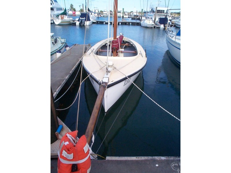 wooden yacht 29' timber netting boat 432162 002
