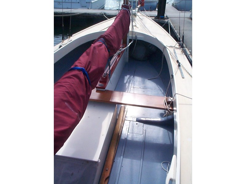 wooden yacht 29' timber netting boat 432162 004