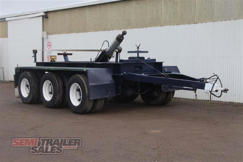 custom tri axle dolly with centre mount hoist 432385 002