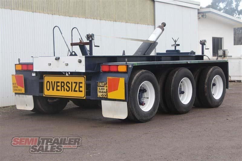 custom tri axle dolly with centre mount hoist 432385 003
