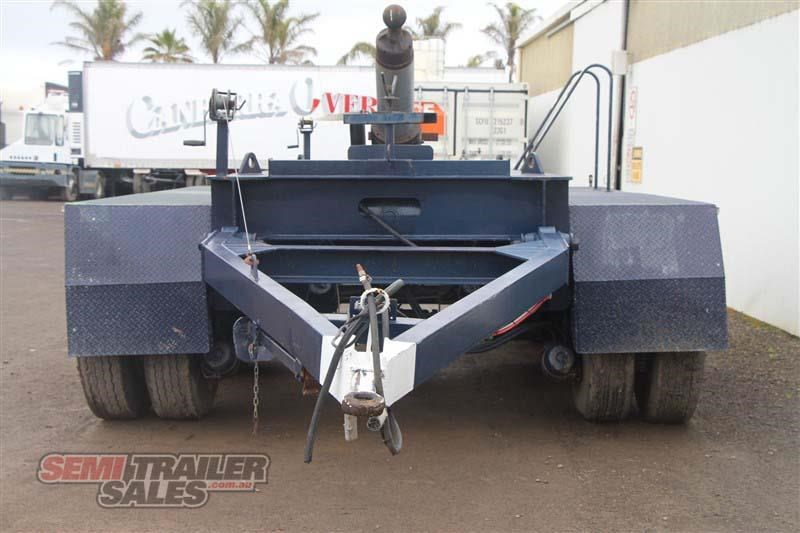 custom tri axle dolly with centre mount hoist 432385 004