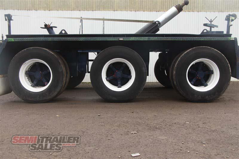custom tri axle dolly with centre mount hoist 432385 008