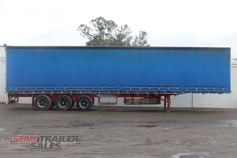 freighter 48ft flat top curtainsider semi trailer 433364 001