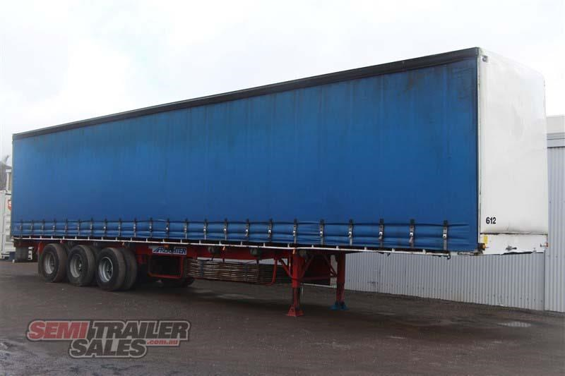 freighter 48ft flat top curtainsider semi trailer 433364 002