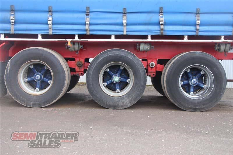 freighter 48ft flat top curtainsider semi trailer 433364 008