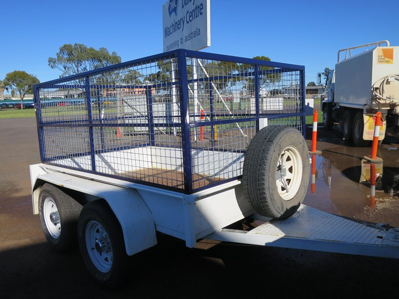 custom built tandem box trailer 433485 001