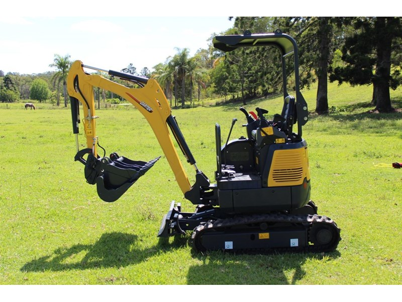 carter ct16 mini excavator with trailer 433547 034