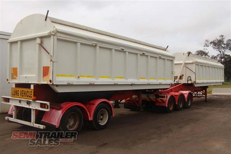 j smith & sons 40ft side tipper semi a trailer 434238 003