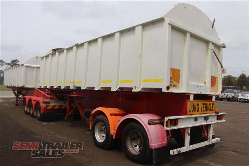 j smith & sons 40ft side tipper semi a trailer 434238 014