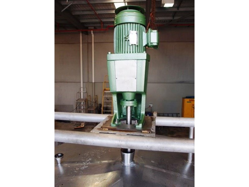 stainless steel jacketed mixing tank 6,500lt 430161 004