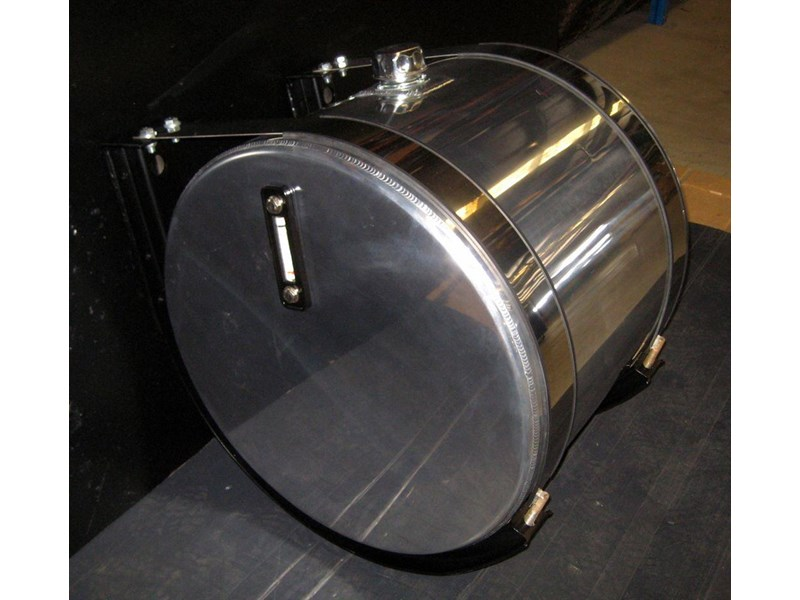 hydraulic oil tanks - polished alloy 18292 015