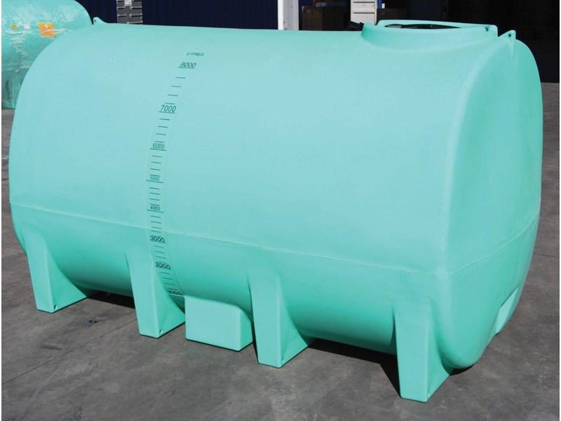 free standing 8000 l active liquid cartage tank /  water tank [ptc08000to] [tfwater] 243551 001