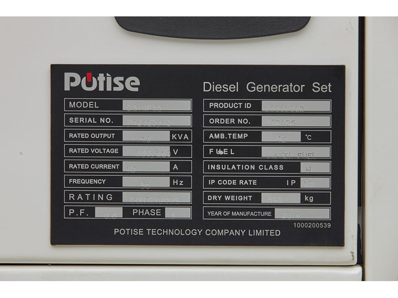 gogopower brand new ds10x5s-au potise powered generator 10kva 433897 011