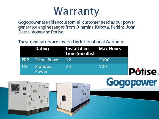 gogopower brand new ds10x5s-au potise powered generator 10kva 433897 024