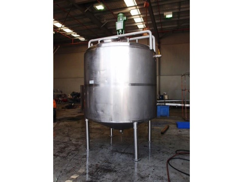 stainless steel jacketed mixing tank 6,500lt 430161 001