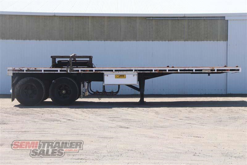 macol 27ft flat top semi trailer with pins 435688 001