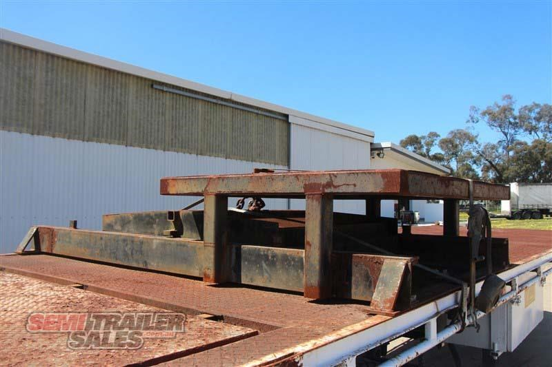 macol 27ft flat top semi trailer with pins 435688 014
