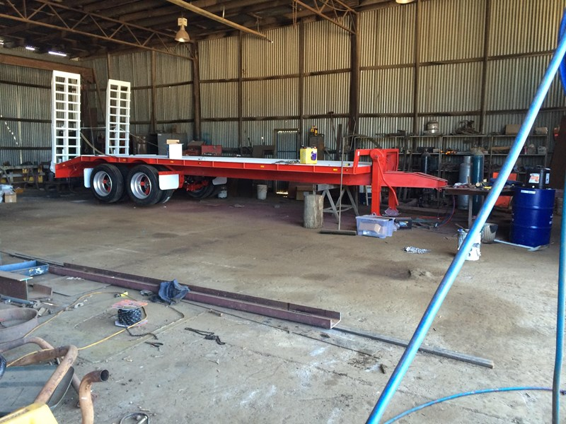 borg engineering tandem tag machinery trailer 435797 008