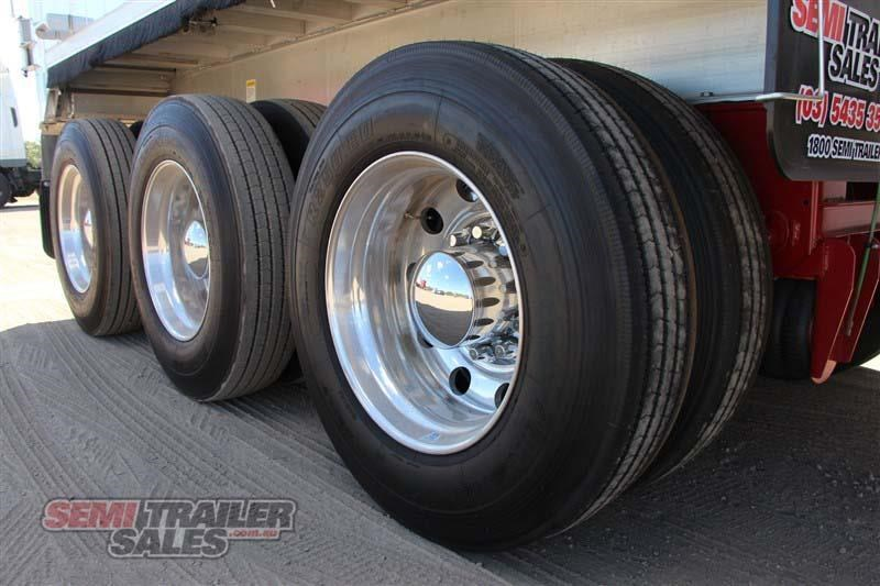 east tip over axle tipper semi trailer 436546 006