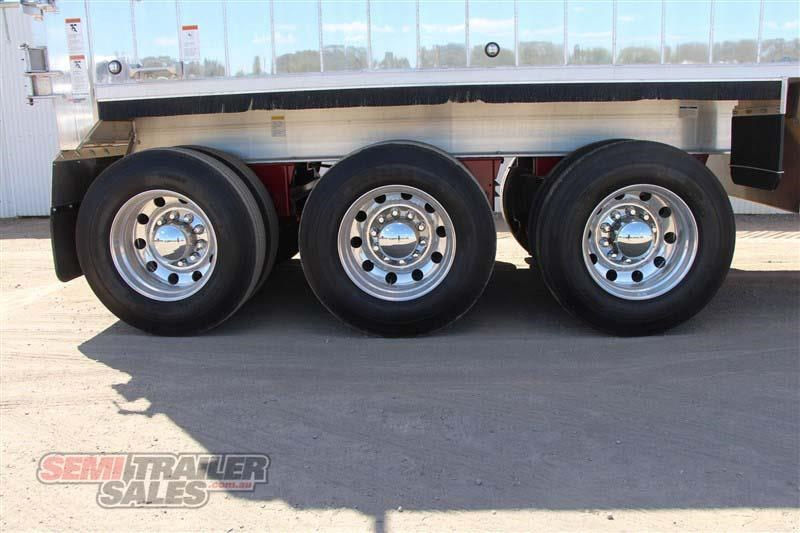 east tip over axle tipper semi trailer 436546 007