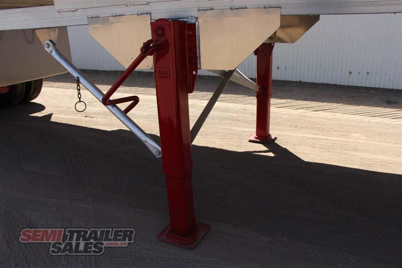 east tip over axle tipper semi trailer 436546 010