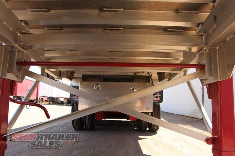 east tip over axle tipper semi trailer 436546 014