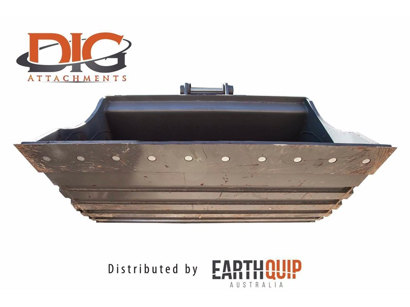 dig attachments 1550mm mud bucket fitted w/boe to suit 12-14t excavators hd 436566 003