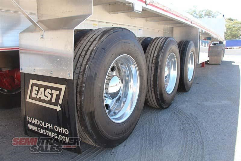 east bsii flat top semi trailer 436642 005
