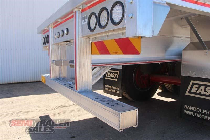 east bsii flat top semi trailer 436642 014