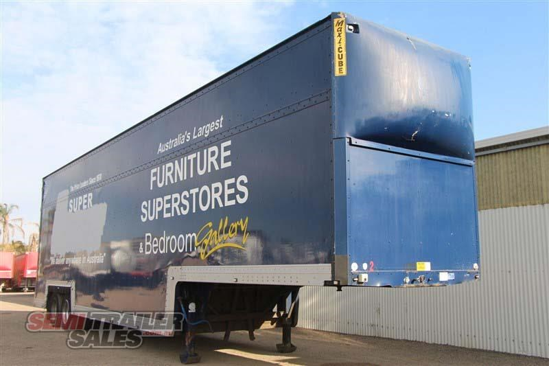 maxi-cube double drop deck pantech semi trailer 436694 002