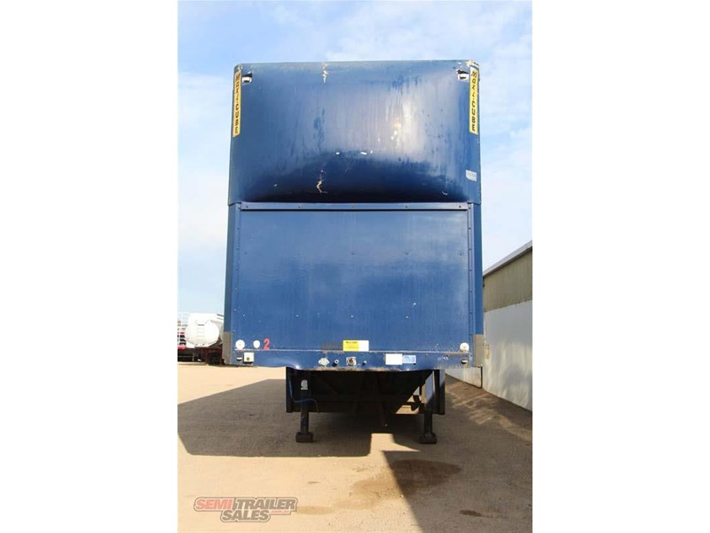maxi-cube double drop deck pantech semi trailer 436694 004