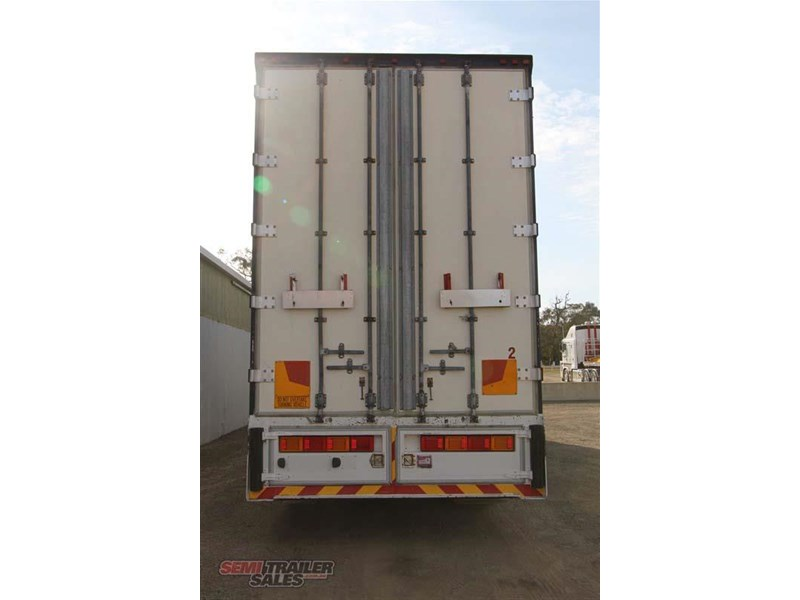 maxi-cube double drop deck pantech semi trailer 436694 008