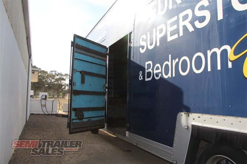 maxi-cube double drop deck pantech semi trailer 436694 013