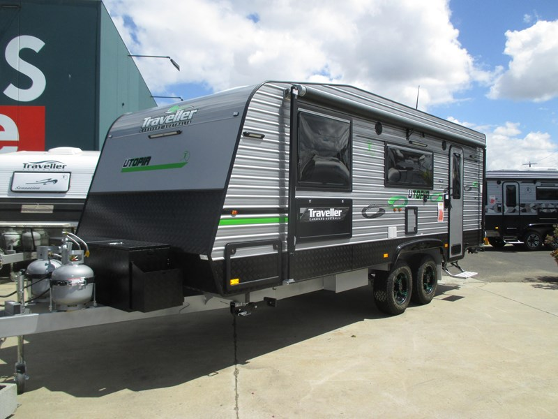 "traveller utopia 21'6"" off road caravan 436741 001"