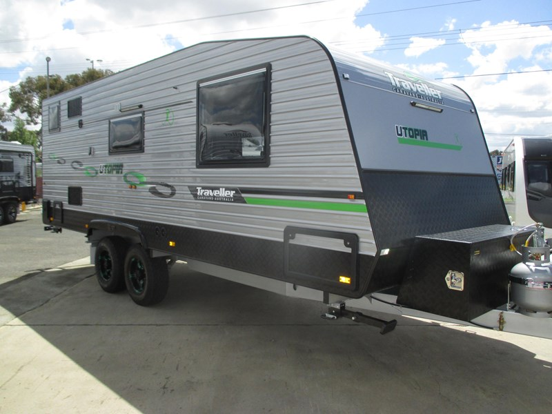 "traveller utopia 21'6"" off road caravan 436741 002"