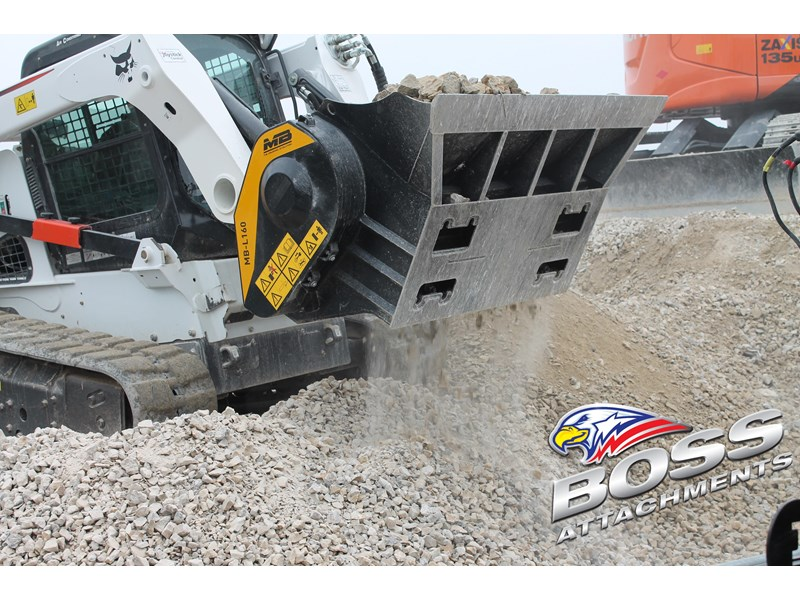 mb l-140 skid/loader crusher bucket by boss attachments 347350 003