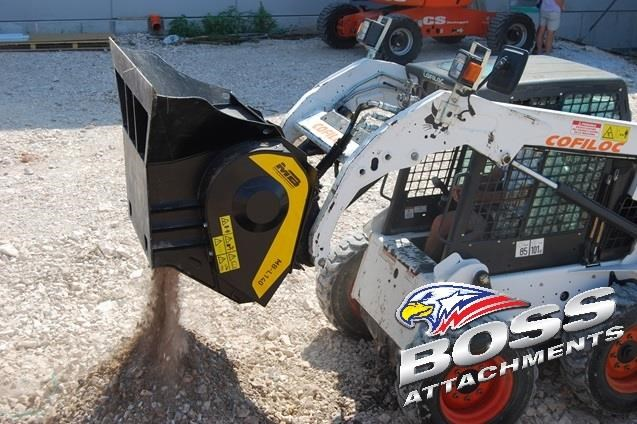 mb l-140 skid/loader crusher bucket by boss attachments 347350 010