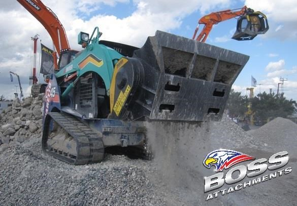 mb l-140 skid/loader crusher bucket by boss attachments 347350 012