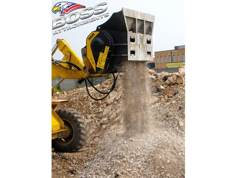 mb l-140 skid/loader crusher bucket by boss attachments 347350 015