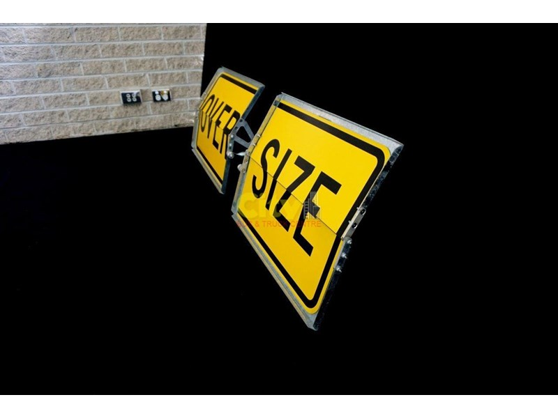 """over size"" signs folding type 436816 006"