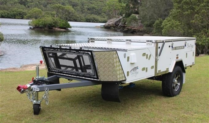 blue tongue camper trailers overland light forward fold camper 437447 002