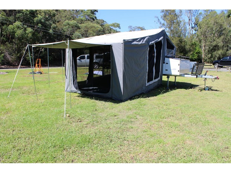 blue tongue camper trailers off road walk up camper trailer 437450 015