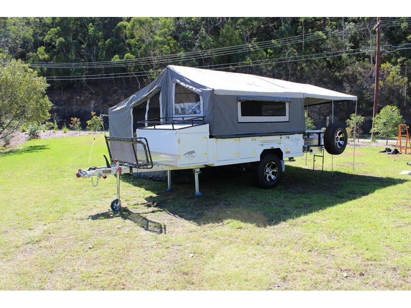 blue tongue camper trailers off road walk up camper trailer 437450 016