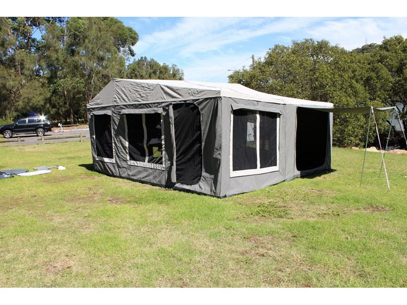 blue tongue camper trailers off road walk up camper trailer 437450 018