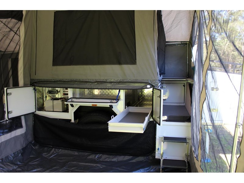 blue tongue camper trailers off road walk up camper trailer 437450 021