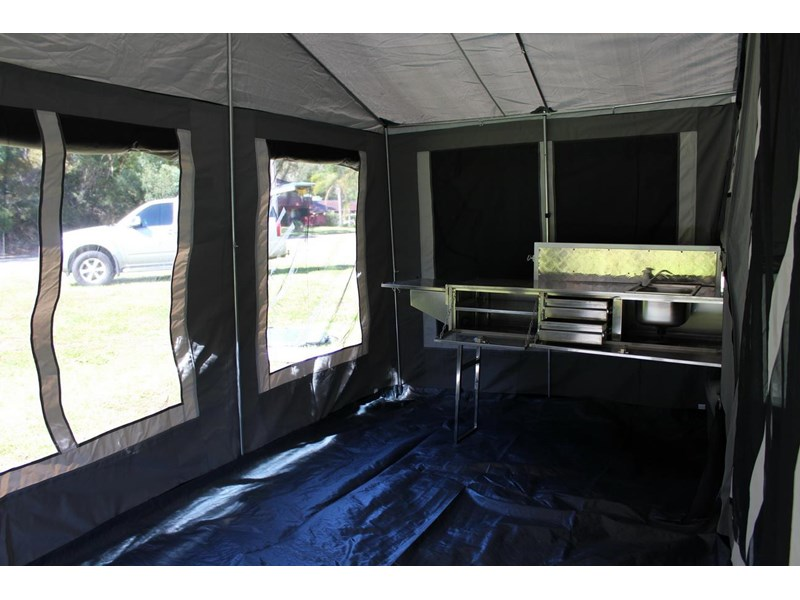 blue tongue camper trailers off road walk up camper trailer 437450 024